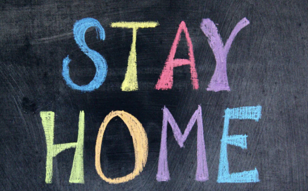 """""""Stay at Home""""  written by Vicky Le Beau"""